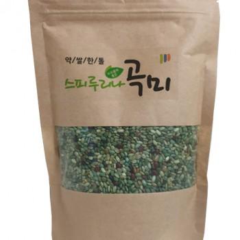 [스피루리나팜스] 스피루리나 곡미 (스피루리나 함유 혼합 곡물) 400g / 1봉지
